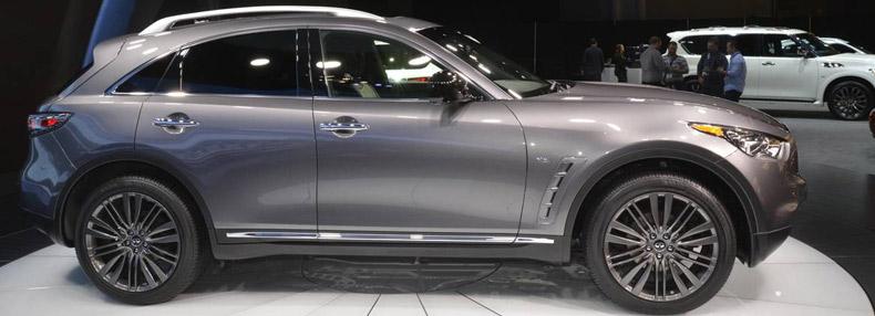 2017 Infiniti Qx70 Limited Ny Auto Show